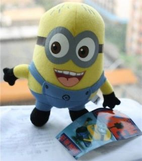 DESPICABLE ME Gru mini MINION PLUSH Toy Jorge Stuffed Doll New with