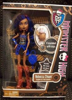 Monster High Rebecca Robecca Steam Doll   BNIB