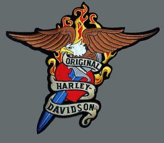 HARLEY DAVIDSON RARE TATTOO EAGLE PATCH (XXL)