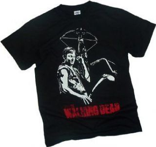 THE WALKING DEAD   Daryl Dixon Mens T  Shirt Officially Licensed