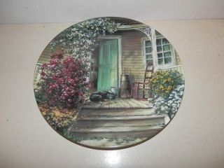 George Wooden Butter Churn Plate Maurice Harvey