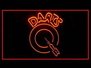 Darts Dartboards Shop Bar Pub Club Games Led Light Sign R
