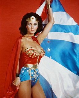 LYNDA CARTER WONDER WOMAN COLOR 36X24 POSTER PRINT