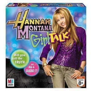 Hannah Montana Miley Cyrus Truth or Dare Girl Talk Board Game New NIB