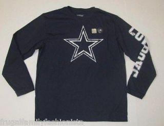 New NWT Old Navy Boys NFL Dallas Cowboys Long Sleeve Shirt