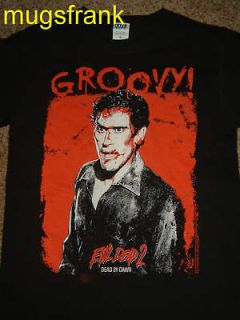 Evil Dead 2 Dead by Dawn BloodyAsh Bruce Campbell Shirt