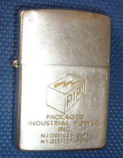 St142   Vietnam War   US ZIPPO LIGHTER   1969   PIPI of New York and