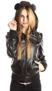 FDW Women Brand New Abbey Dawn Avril Lavigne Riot Act Black Hoody