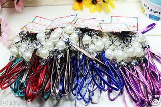 pear NEW Fashion Mobile Phone Dangle String Strap Thread Cord