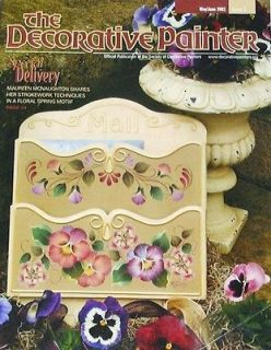 THE DECORATIVE PAINTER May/June 2003 Tole Painting Pattern Book