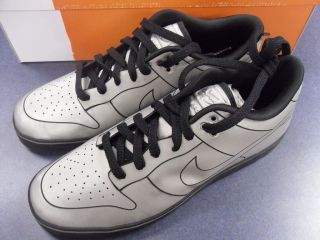 Nike Dunk DeLorean Shoes 6.0 SE Back to the Future DMC Marty McFly