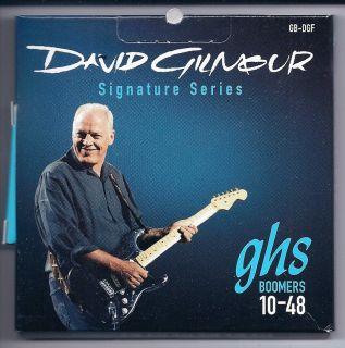 DAVID GILMOUR FENDER STRAT GHS BOOMERS SET GB DGF 10 48