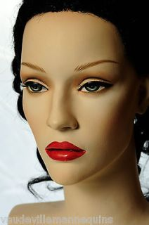MANNEQUIN DISPLAY HEADS For LaceFront WigsNicole Beautiful & Made in