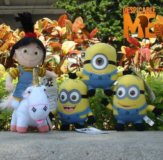 Me Minion Plush Stuffed Animal Unicorn Jorge Stewart Dave Agnes