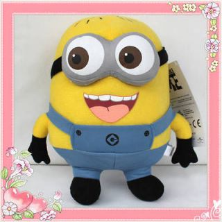 Despicable Me Minion Figure 3D Eye Jorge Plush Toy Stuffed Animal Doll
