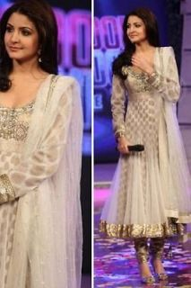 BOLLYWOOD DESIGNER SALWAR KAMEEZ ANUSHKA SHARMA ANARKALI DRESS KAMIZ