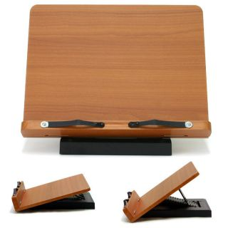 Book Stand Portable Wooden Reading Desk Holder [A]