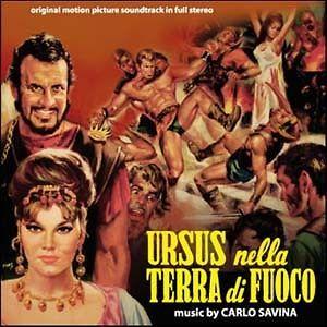 Carlo Savina: Ursus Nella Terra Di Fuoco (CD New/Seal)
