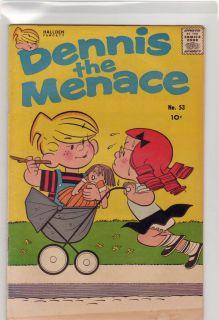 Dennis the Menace #53 F+ 1961 Fawcett Comic Doll Cart