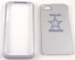 Dallas Cowboys Glossy Apple iPhone 5 Faceplate Case Cover Snap On