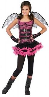 INNOCENCE NIGHT WING SPIDER Fairy Halloween Costume Fancy Dress Up
