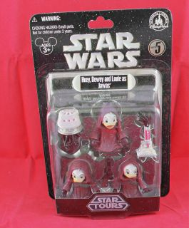 Star Wars Disney Star Tour Series 5 Huey, Dewey, and Louie as Jawas