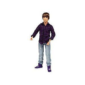 Justin Bieber Basic Doll with Rooted Hair   Purple