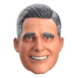 MITT ROMNEY Pesidential Political Latex Vinyl Full Costume Mask