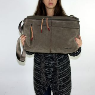 Diesel Mens Sequence Messenger Sample Bag  Retail $375 New With Tags