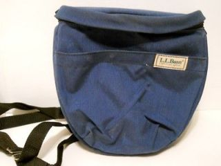 Unique Three Way Camera Bag (Chest, Shoulder, Belt) Dark Blue by L.L