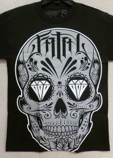 Fatal Clothing Mens T Shirt Sugar Skull