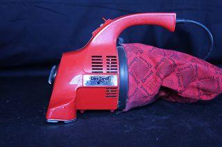 Vintage Dirt Devil Hand Vacuum Model #103 Red Royal Appliance Co.