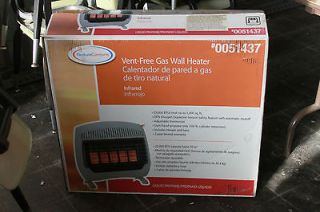 Vent Free Infrared Gas Propane Wall Heater (25000 BTU) with ODS Sensor