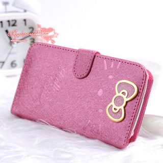 Newly listed Cute Hello Kitty PU LEATHER CASE With STAND For Samsung