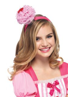 Strawberry Frosting Cupcake Headband Katy Perry California Gurls Fancy