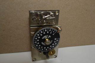DIEBOLD 153932 TIME LOCK BANK VAULT 120HR SAFE TIMER MOVEMENT CLOCK