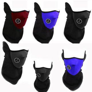 Bike Motorcycle Ski Neck Warmer Face Mask Veil Cover Sport Snow Men
