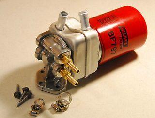 H2O/Oil~WMO~WVO~BIO~SVO~Diesel 4 Port Horizontal Fuel Heater/no 4