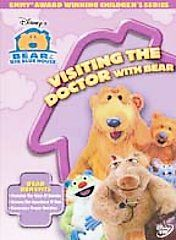 Bear in the Big Blue House   Visiting the Doctor with Bear (DVD, 2005)