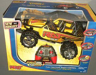 RAT 500 RT Pro Dirt Buggy Yellow New Bright BRP Remote Radio