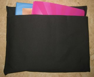 BLACK Chair Pocket ~Seat Desk Sack *MEDIUM* *STRONG*