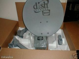 NEW 500 DISH NETWORK ANTENNA w/ twin DPPLUS LNBF