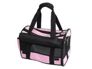 Pink Medium Pet Carrier Dog Cat Bag Tote Purse Handbag 1P