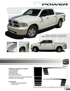 DODGE RAM ALL MODELS Graphics Decal Emblems Stickers Stripes 1519 Trim