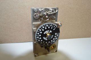 DIEBOLD 150118 TIME LOCK BANK VAULT 120HR SAFE TIMER MOVEMENT CLOCK