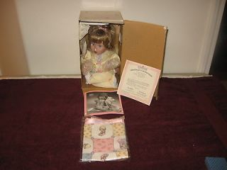 NIB THE ASHTON DRAKE GALLERIES JESUS LOVES ME PORCELAIN DOLL