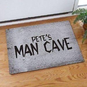 Man Cave Doormat Custom Name Game Room Doormat Man Cave Door Mat