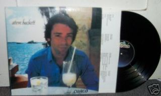 HACKETT Cured 1981 LP Record Genesis GTR Nick Magnus Hope I Dont Wake