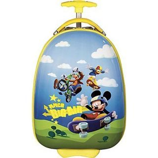 Disney by Heys Kids 18 Hardside Carry On Case   Mickey Mouse Big Air