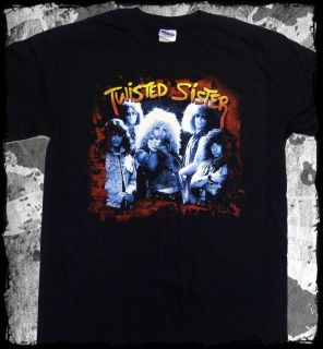 Twisted Sister   I Wanna Rock t shirt   Official   FAST SHIP